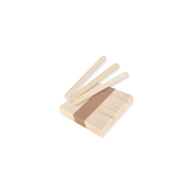 Disposable facial spatulas 100 u.