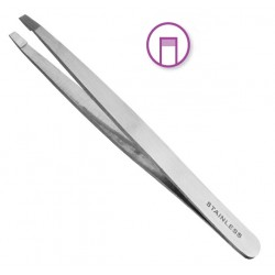 Inox tweezers straight point