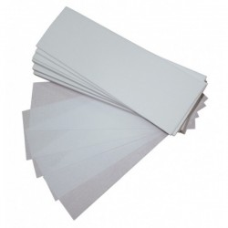 Banda depilar Plus 90gr. 23x7 cm. 100 und.