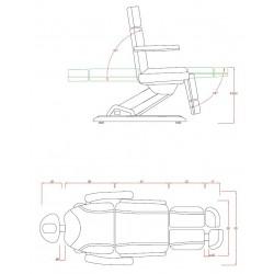 Sillon eléctrico Medial (3 motores)