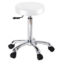 Flat round stool Saturne