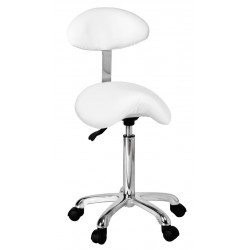Hydraulic stool with backrest Uranus+