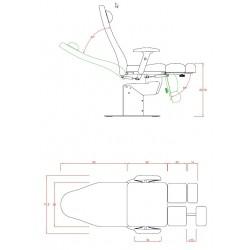 Sillón electrico Extens (1 motor)