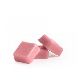 Cera pastillas rosa 1 kg.