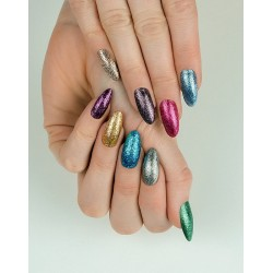 Semilac nail polish nº254 (Platinum - Turquoise)