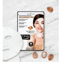 Tissue face mask firming Pearl + hyaluronic acid