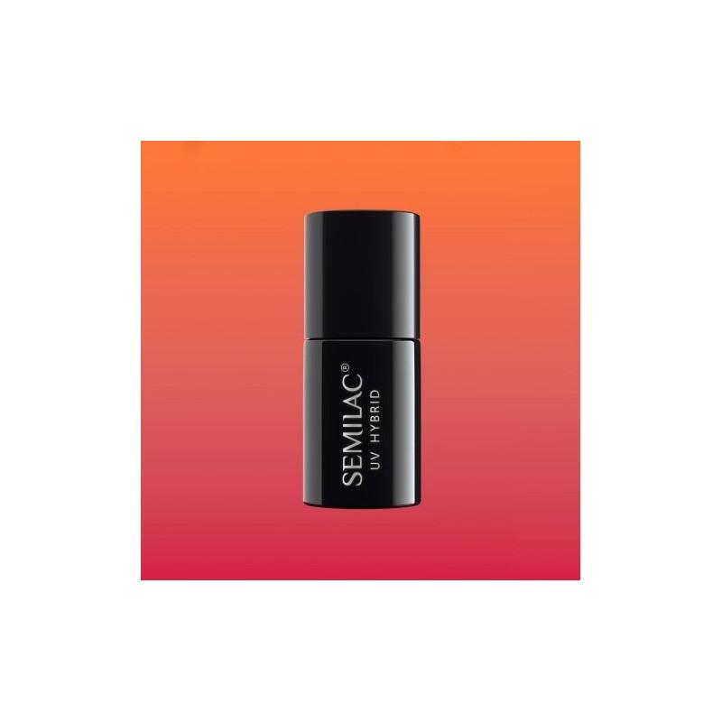 Esmalte Semilac nº642 (Thermal Red&Orange)