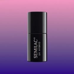 Semilac nº645 (Thermal Navy&Pink)