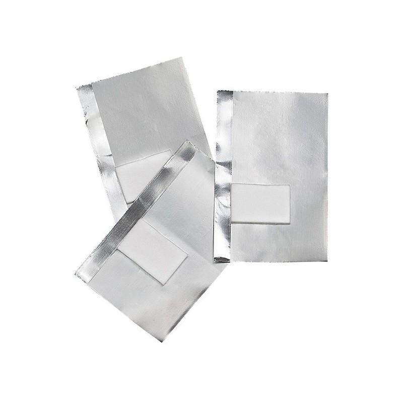 Hojas aluminio 100u