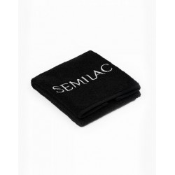 Toalla rizo Semilac (negra)
