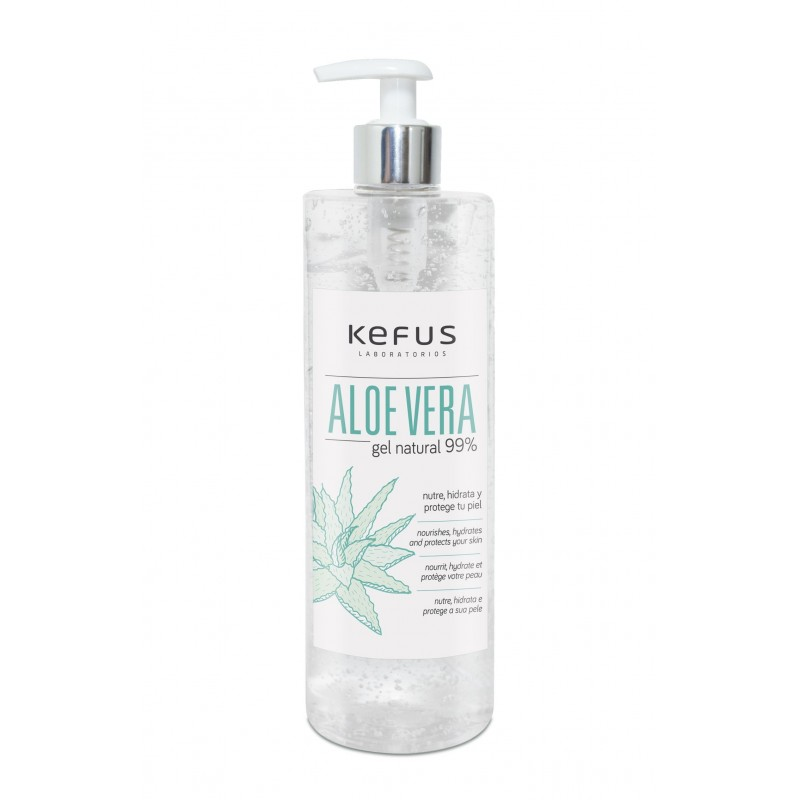 Gel aloe vera 500 ml (natural)
