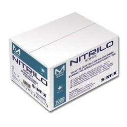 Guantes nitrilo 100 und.