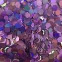 Bolsa de Hexágonos Lilas Nail Art