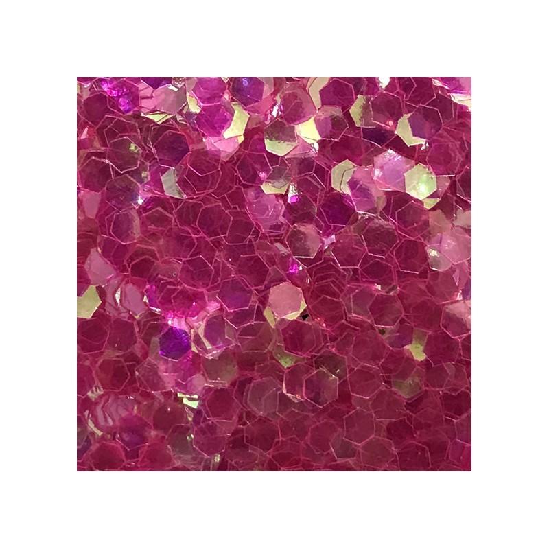 Bolsa de Hexágonos Rosa Nail Art