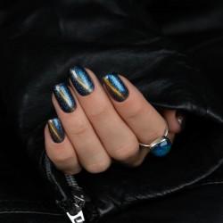 Esmalte Semilac nº310 Magic Cat Eye (Blue)