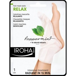 RELAXING Socks Mask for Feet- Pepermint