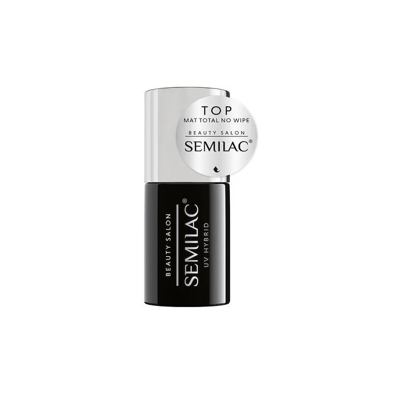Esmalte Semilac Beauty Salon Top Mat Total No Wipe 11ml