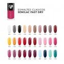 Pack Semilac 30 colores Esmalte normal Fast Dry
