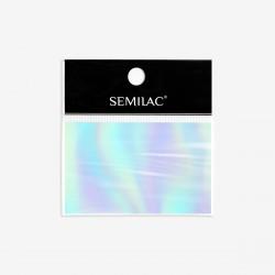 Decoraciones Semilac Foil Silver nº745