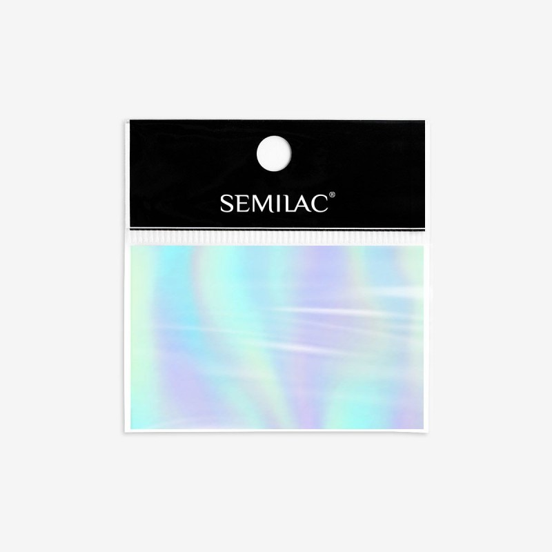 Semilac Foil Silver Decorations nº745