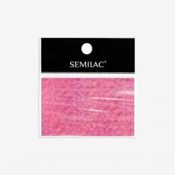 Semilac Foil Holo Pink Decorations nº748
