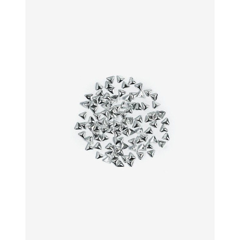 Semilac Nail decoration Gros Triangle Argent nº775