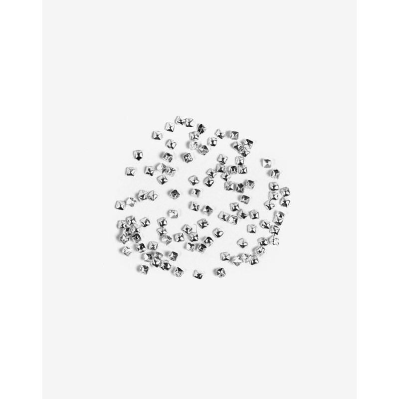 Decoraciones Semilac Silver Small Squares nº763