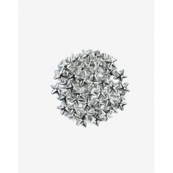 Decoraciones Semilac Silver Big Stars nº761