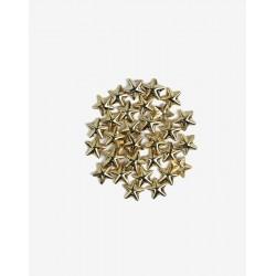 Decoraciones Semilac Gold Big Stars nº760