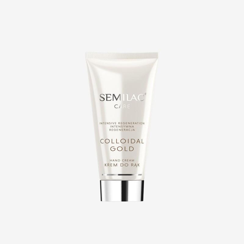 Regenerating Hand Cream Semilac Colloidal Gold