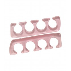 Pair of silicone toe separators