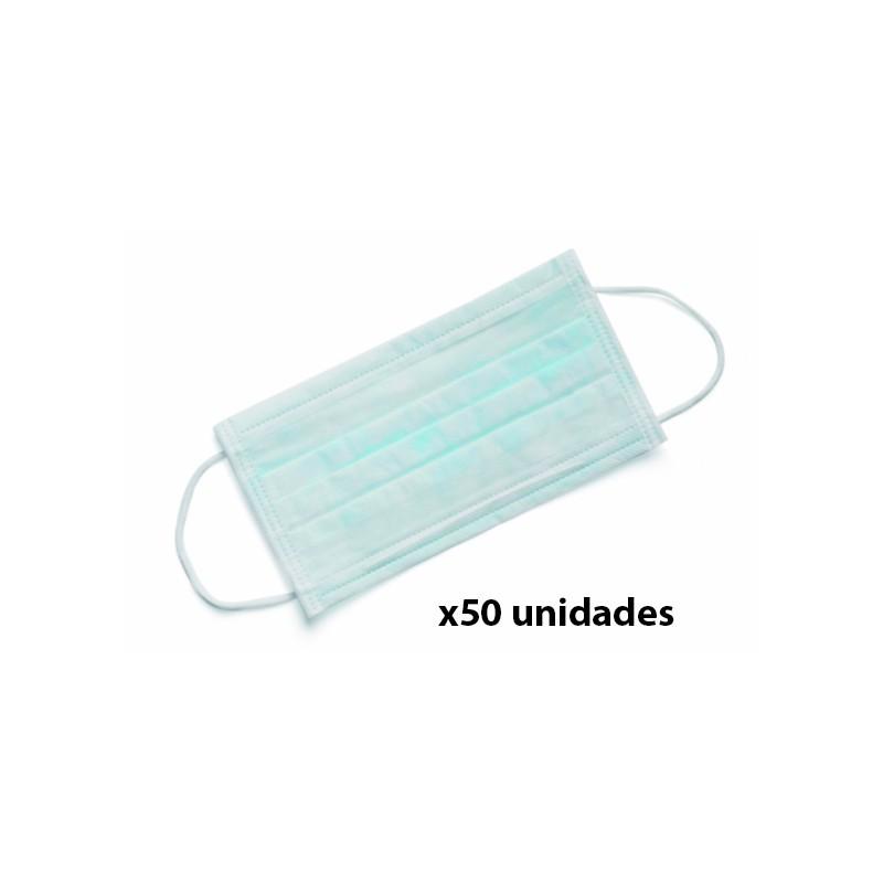 Disposable face mask 100 u.