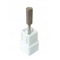 Fresa diamante cilíndrica barril mediana