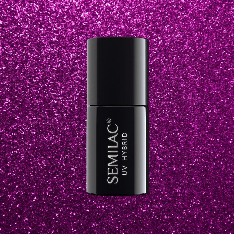 Esmalte Semilac nº256 (Platinum - Violet)