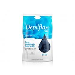 Blue wax Depilflax 1 kg.