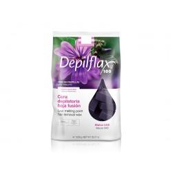 Mauve wax Depilflax 1 kg.
