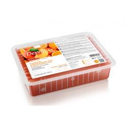 Orange-peach paraffin 500 gr.