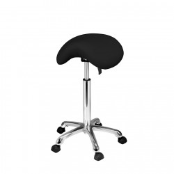 Hydraulic stool Uranus (black)