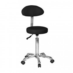 Round-shaped stool with...