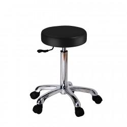 Flat round stool Saturne...