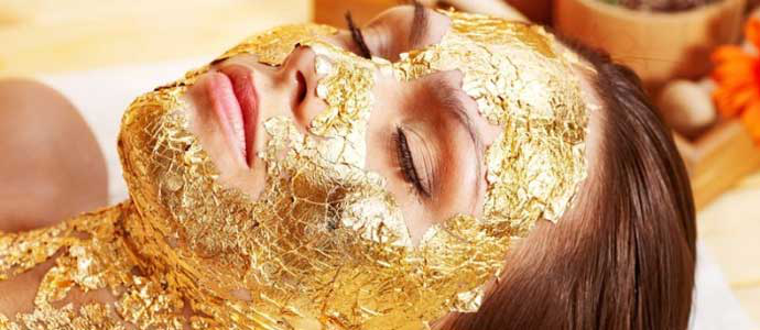 Golden skin with a 24 carat treatment