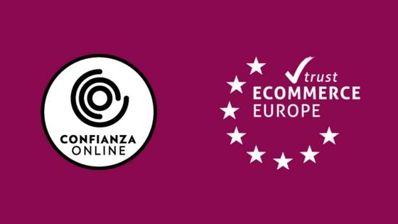Material Estética obtiene el sello Confianza Online y Europe eCommerce TrustMark
