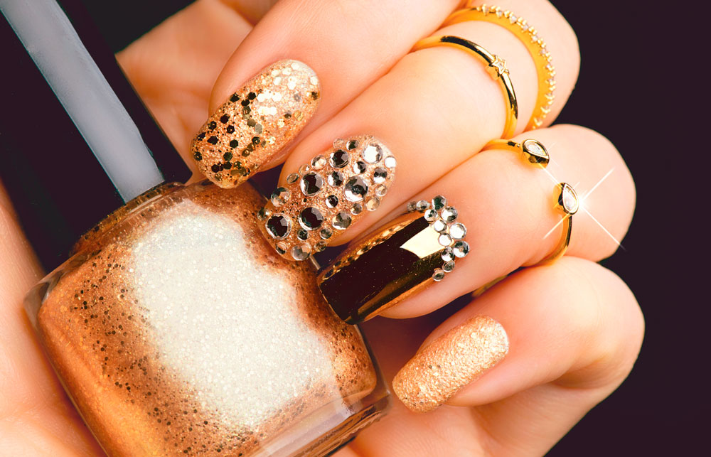 Convierte las uñas en joyas