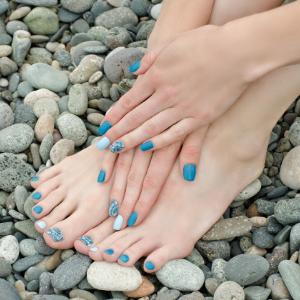 Cosmetics Manicure and Pedicure