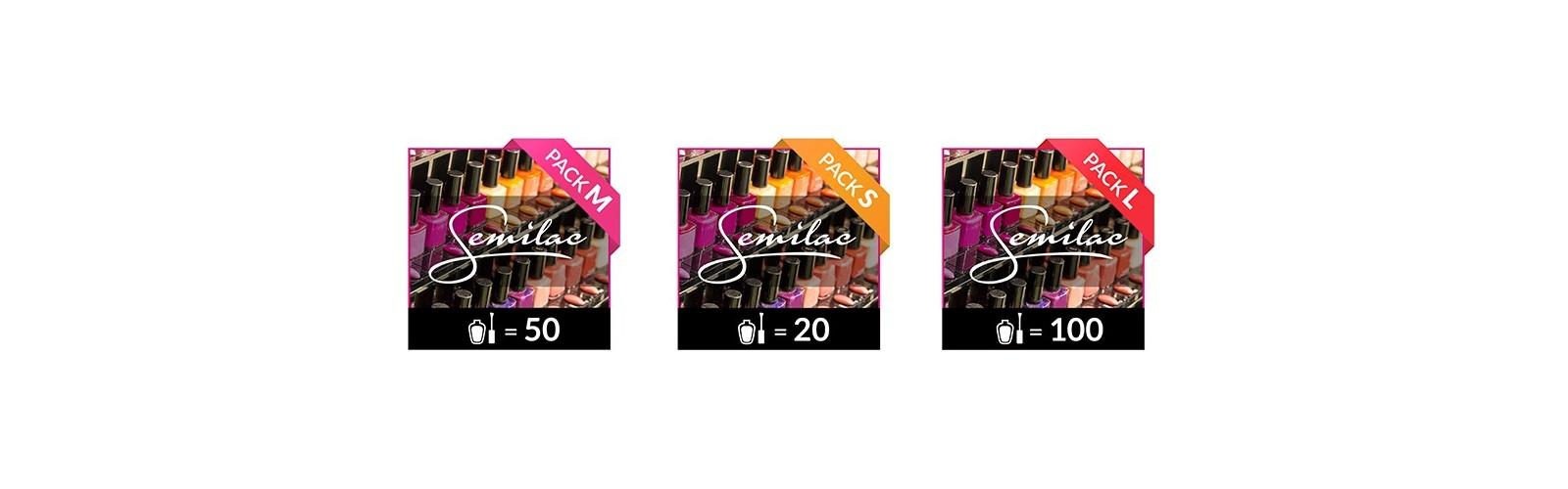 Packs Semilac