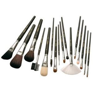 Pinceles y brochas de maquillaje profesional