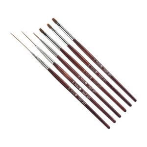 Pinceles para uñas de gel UV, acrílicas y Nailart